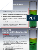 C16 Alcohols and Carboxylic Acids
