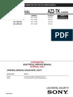 Sony Kdl-40bx425 Chassis Az3tk Level3