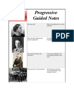 Guided Progressive Notes