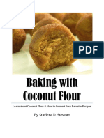 Baking With Coconut Flour