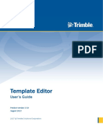 Template Editor User Guide 10