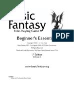 Basic Fantasy RPG - Beginner's Essentials r6