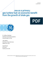 GE Ethane as Gas Turbine Fuel