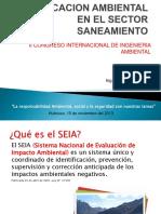 Certificacion Ambiental en El Sector Sanemiento