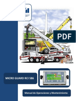 RCI586 Operation Maintenance Manual Spanish
