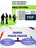 Ppt AKMEN Variable Costing