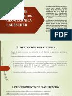 Sistema de Clasificacion Geomecanica Laubsher