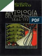 José Emilio Pacheco - Antologia Del Modernismo