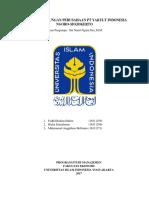 Laporan Kunjungan Perusahaan PT.yakuLT INDONESIA