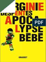 Virginie Despentes-Apocalypse bebe - PRIX RENAUDOT 2010-Grasset (2010).pdf