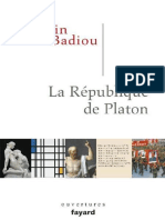Alain Badiou - La République de Platon-eBook-Gratuit.co