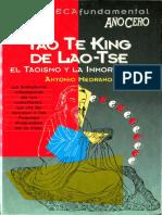 Tao Te King - El Taoismo y La Inmortalidad Antonio Medrano