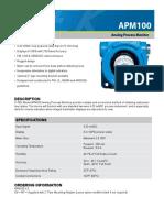 APM100-0202-1d APM100 Data Sheet