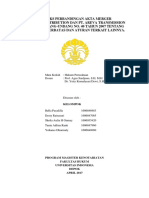 Matriks Perbandingan Akta Merger Menurut Undang Undang No 40 Tahun 2007