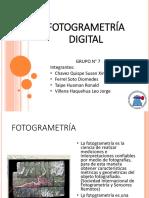 Fotogrametría Digital - Grupo7