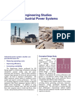 Engineering Studies for Industrial Power Systems