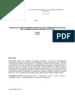 Estudio de Comportamiento Operativo Del Compensador Estático