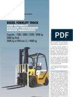 1.5to4 T Forklifts