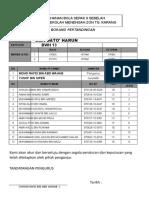 Borang Daftar 6 p 2010