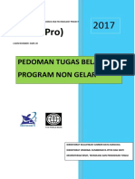 Pedoman Beasiswa Program Non Gelar