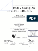 Principios y Sistemas de Refrigeracion Pita