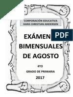 Caratula Examen Agosto
