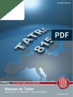 Manual de servicio camiones Tatra T815