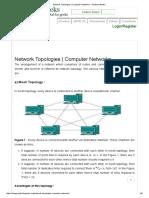 Network Topologies _ Computer Networks - GeeksforGeeks