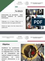 3.3 NOM-033-STPS-2015