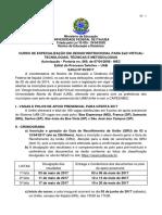 Especialização Em Design Instrucional Unifei_2017
