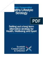 Scottish Conservative Healthy Lifestyle Strategy