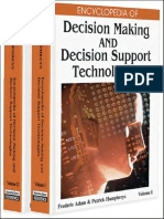 Adam F., Humphreys P. (Eds.) Encyclopedia of Decision Making and Decision Support Technologies (ISR, 2008)(ISBN 1599048434)(1020s)_CsAi