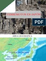 Historia sísmica de Japón