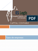 El Salvador Legis - Capital Contable
