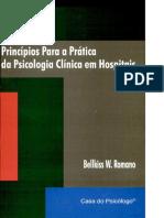 Principios Para a Pratica Da Psicologia Clinica Em Hospitais