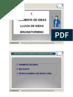 2. Lluvia de Ideas