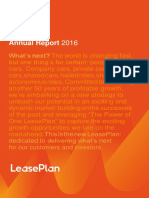 Leaseplan Corporation Annual Report 2016