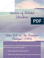 7 - Review of Related Literature
