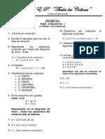 Verano 2018 Aritmetica 4to Primaria
