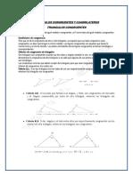 Triangulos Congruentes y Cuadrilateros Tercer Grado