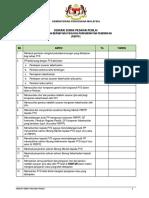 Senarai Semak Tindakan PP(PBPP)