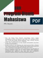 Panduan Program Bisnis Mahasiswa