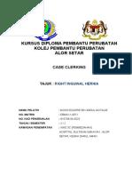 122998508 Case Clerking Hernia