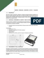 NDC CPR Especificaciones Tecncias Iluminacion y Aterramiento