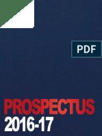 BNU Prospectus 2016 17