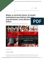 _Mitigar La Restricción Externa