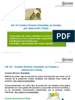 UA 1A Costeo Directo vs Costeo Absorbente