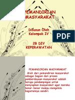 PEMANDIRIAN MASYARAKAT