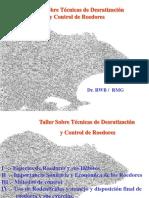T. Desrratización 2 - Sp. Roedores y Sus Hábitos