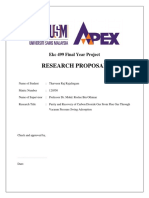 Final Year Project Research Proposal